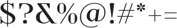 TT Nooks otf (400) Font OTHER CHARS
