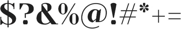 TT Nooks otf (700) Font OTHER CHARS
