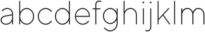 TT Norms ExtraLight otf (200) Font LOWERCASE