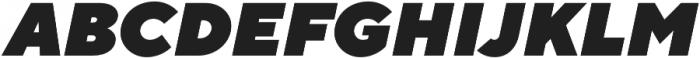 TT Norms Heavy Italic otf (800) Font UPPERCASE