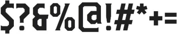 TT Octas otf (700) Font OTHER CHARS