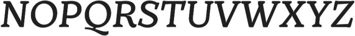 TT Phobos DemiBold Italic otf (600) Font UPPERCASE