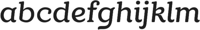 TT Phobos DemiBold Italic otf (600) Font LOWERCASE