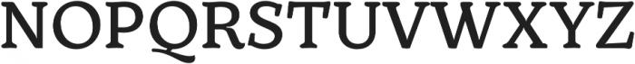 TT Phobos DemiBold otf (600) Font UPPERCASE