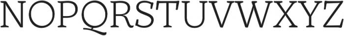 TT Phobos Light otf (300) Font UPPERCASE