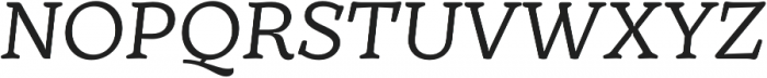 TT Phobos otf (400) Font UPPERCASE