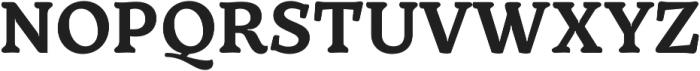 TT Phobos otf (700) Font UPPERCASE