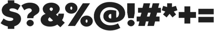 TT Prosto Sans Black otf (900) Font OTHER CHARS