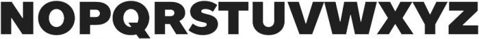 TT Prosto Sans Black otf (900) Font UPPERCASE
