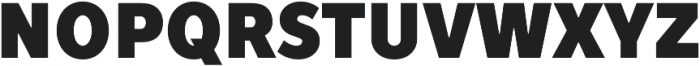 TT Prosto Sans Condensed Black otf (900) Font UPPERCASE