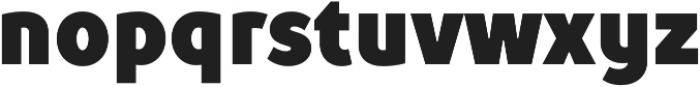 TT Prosto Sans Condensed Black otf (900) Font LOWERCASE