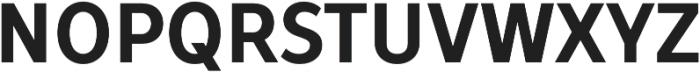 TT Prosto Sans Condensed otf (700) Font UPPERCASE