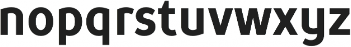 TT Prosto Sans Condensed otf (700) Font LOWERCASE