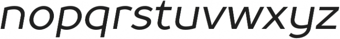 TT Prosto Sans otf (400) Font LOWERCASE