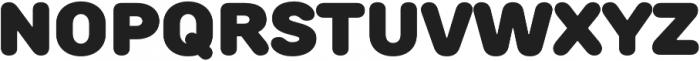 TT Rounds Black otf (900) Font UPPERCASE