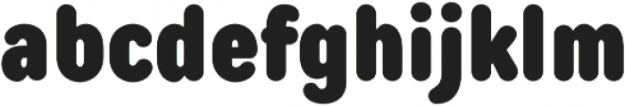 TT Rounds Condensed Black otf (900) Font LOWERCASE