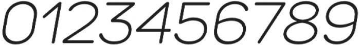 TT Rounds Light Italic otf (300) Font OTHER CHARS