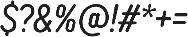 TT Rounds Neue Compressed Italic otf (400) Font OTHER CHARS