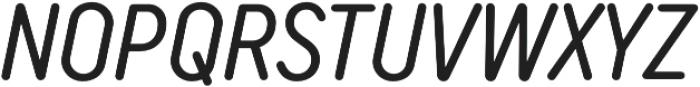 TT Rounds Neue Compressed Italic otf (400) Font UPPERCASE