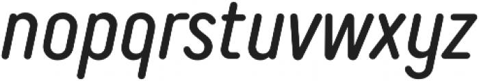 TT Rounds Neue Compressed Italic otf (400) Font LOWERCASE