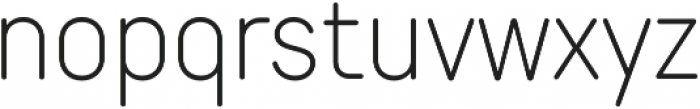 TT Rounds Neue Condensed ExtraLight otf (200) Font LOWERCASE