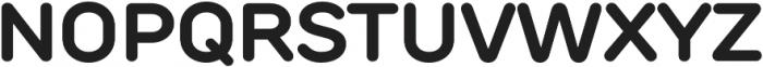 TT Rounds otf (700) Font UPPERCASE