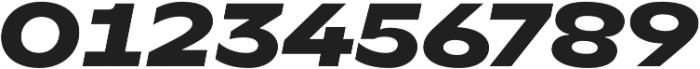 TT Runs ExtraBold Italic otf (700) Font OTHER CHARS