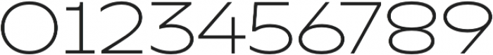 TT Runs Light otf (300) Font OTHER CHARS