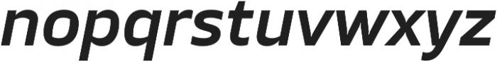 TT Severs DemiBold Italic otf (600) Font LOWERCASE