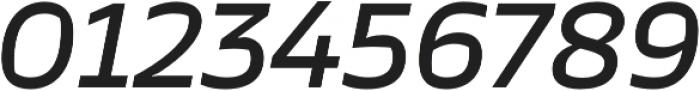 TT Severs Medium Italic otf (500) Font OTHER CHARS