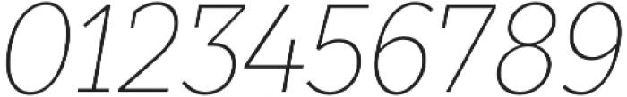TT Slabs Condensed Thin Italic otf (100) Font OTHER CHARS