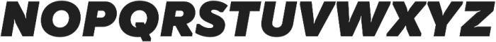 TT Smalls Black Italic otf (900) Font UPPERCASE