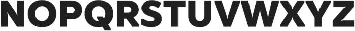 TT Smalls ExtraBold otf (700) Font UPPERCASE