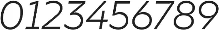 TT Smalls Light Italic otf (300) Font OTHER CHARS