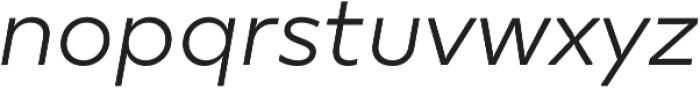 TT Smalls Light Italic otf (300) Font LOWERCASE