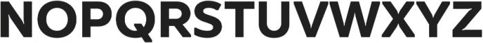 TT Smalls otf (700) Font UPPERCASE