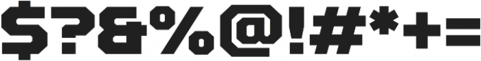 TT Squares Black otf (900) Font OTHER CHARS