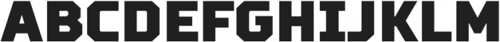 TT Squares Condensed Black otf (900) Font UPPERCASE