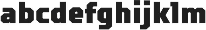 TT Squares Condensed Black otf (900) Font LOWERCASE