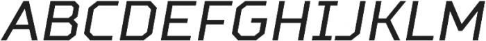 TT Squares Condensed otf (400) Font UPPERCASE