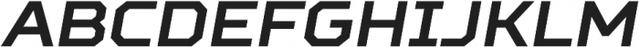 TT Squares otf (700) Font UPPERCASE