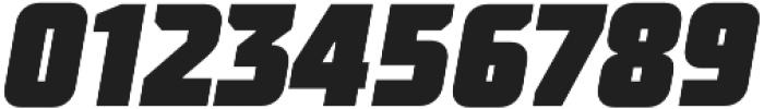 TT Supermolot Condensed Black Italic otf (900) Font OTHER CHARS