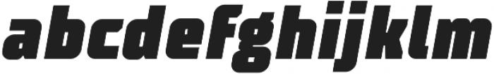 TT Supermolot Condensed Black Italic otf (900) Font LOWERCASE