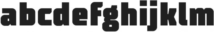 TT Supermolot Condensed Black otf (900) Font LOWERCASE