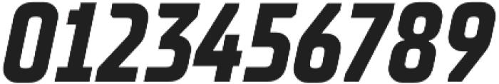 TT Supermolot Neue Condensed Bold Italic otf (700) Font OTHER CHARS