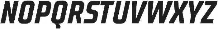 TT Supermolot Neue Condensed Bold Italic otf (700) Font UPPERCASE