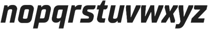 TT Supermolot Neue Condensed Bold Italic otf (700) Font LOWERCASE