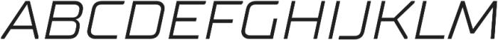 TT Supermolot Neue Expanded Italic otf (400) Font UPPERCASE
