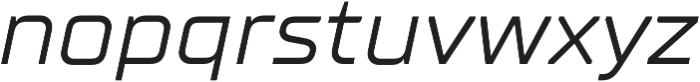 TT Supermolot Neue Expanded Italic otf (400) Font LOWERCASE