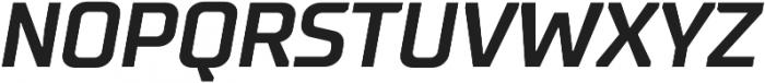 TT Supermolot otf (700) Font UPPERCASE